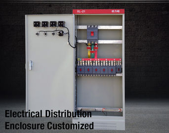 China XL21 Motor Control Cabinet Power Electrical Enclosure Sheet Steel For Switch Panel IEC 60439 factory