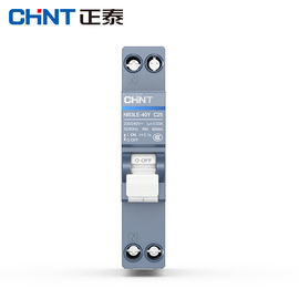 China 18mm Earth Leakage Industrial Circuit Breaker 10~40A 1P+N For AC230/400V factory