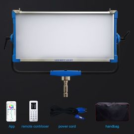 China LED 300W RGBW Studio Fill Light , Soft Panel Portable Photography Light TV Film factory