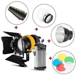 China 80W Spotlight LED Studio Lights Dual Color Temperature Control With Hight CRI Index factory
